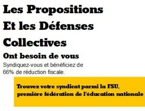 Poitiers : Comité technique Académique du 2 novembre